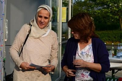 Doaa und Sabine