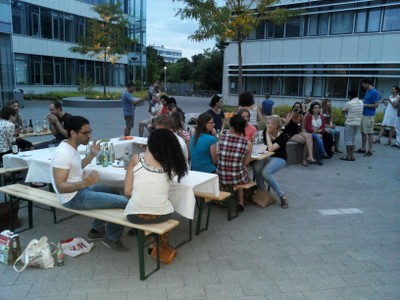 Gespräche Sommerfest 2013